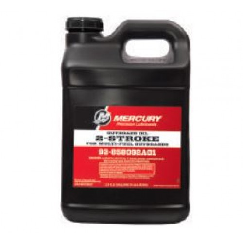 mercury 2-stroke oil -- 2-stroke multi-fuel outboards