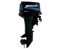 4-Mercury 25hp SeaPro 2 Stroke, Manual Start, Long Shaft 20ins, Tiller Handle