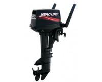 "2-Mercury 8hp 2 Stroke, Manual Start, Long Shaft 20"""